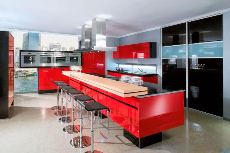 Cuisines_Bains_Vaunage_Plomberie_Electricite_Conception_Cuisiniste_Nimes_Montpellier_34_laque_brillant_025